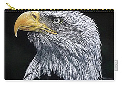 Bald Eagle Carry-all Pouch by Linda Becker