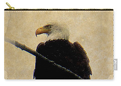 Carry-all Pouch featuring the photograph Bald Eagle by Lori Seaman