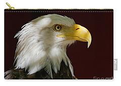 Bald Eagle - Majestic Portrait Carry-all Pouch
