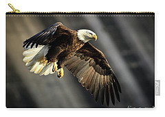 Bald Eagle Prepares To Dive Carry-all Pouch