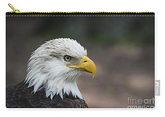 Bald Eagle Profile Carry-all Pouch