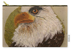 Bald Eagle Side Veiw Carry-all Pouch