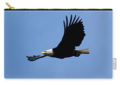 Bald Eagle Soaring High Carry-all Pouch