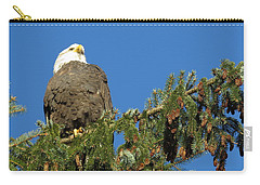 Bald Eagle Sunbathing Carry-all Pouch