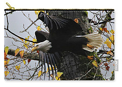 Bald Eagle Takes Flight Carry-all Pouch