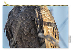 Bald Eagle Vertical Profile Carry-all Pouch