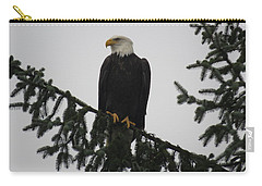 Bald Eagle Watching Carry-all Pouch