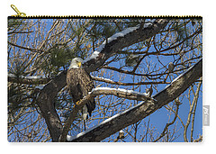 Bald Eagle Watching Her Domain Carry-all Pouch