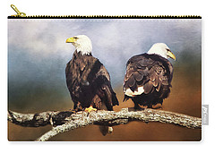 Bald Eagle Watchmen   Carry-all Pouch