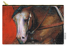 Bald Face Carry-all Pouch by Frances Marino