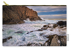 Carry-all Pouch featuring the photograph Bald Head Cliff by Rick Berk