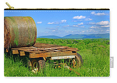 Bales At Rest Carry-all Pouch