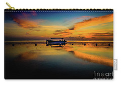 Bali Sunrise 3 Carry-all Pouch by M G Whittingham