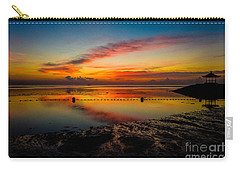 Bali Sunrise II Carry-all Pouch by M G Whittingham