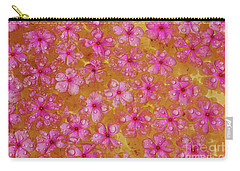 Balinese Flowers Carry-all Pouch by Cassandra Buckley