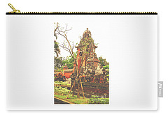 Carry-all Pouch featuring the photograph Balinese Temple Gates by Cassandra Buckley