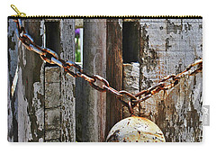 Ball And Chain Carry-all Pouch