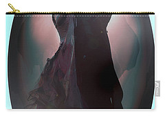 Carry-all Pouch featuring the painting Ball Room Dancer by Tbone Oliver