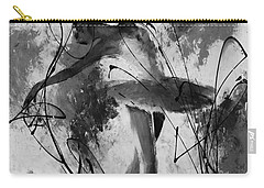 Ballerina Dance Black And White  Carry-all Pouch by Gull G