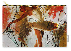 Ballerina Dance Original Painting 01 Carry-all Pouch by Gull G