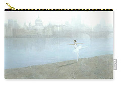 Ballerina On The Thames Carry-all Pouch