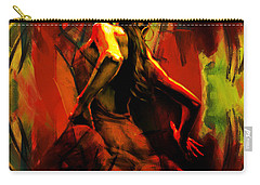 Spanish Flamenco Dancer 67p1 Carry-all Pouch
