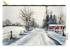 Ballina Road Carry-all Pouch by Judith Levins