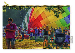 Carry-all Pouch featuring the photograph Balloon Fest Spirit by Kendall McKernon