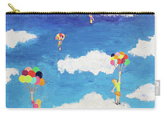 Balloon Girls Carry-all Pouch
