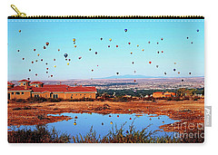 Balloon Reflections Carry-all Pouch by Gina Savage