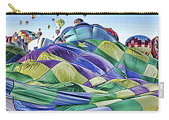 Ballooning Waves Carry-all Pouch by Marie Leslie
