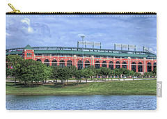 Ballpark In Arlington Now Globe Life Park Carry-all Pouch