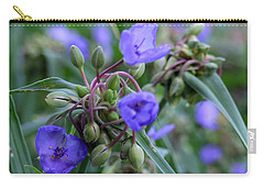 Carry-all Pouch featuring the photograph Balmy Blue by Michiale Schneider