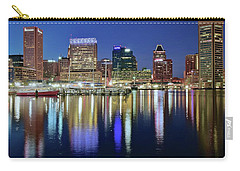 Baltimore Blue Hour Carry-all Pouch by Frozen in Time Fine Art Photography