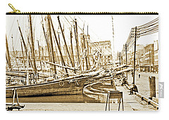 Baltimore Harbor 1900 Vintage Photograph Carry-all Pouch