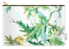 Baltimore Orioles And Oak Tree Carry-all Pouch by Suren Nersisyan