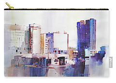 Baltimore Plaza Carry-all Pouch by P Anthony Visco