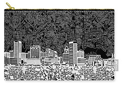 Baltimore Skyline Abstract 12 Carry-all Pouch