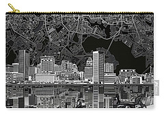 Baltimore Skyline Abstract 9 Carry-all Pouch