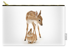Bambi And Thumper Carry-all Pouch