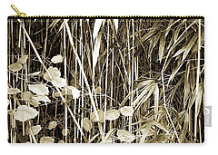 Bamboo And Gingko Carry-all Pouch by Hugh Smith