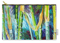 Bamboo Delight Carry-all Pouch by Lisa Boyd