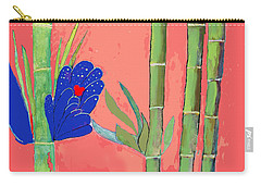 Bamboo Flower Carry-all Pouch