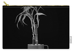 Carry-all Pouch featuring the photograph Bamboo Plant by Tom Mc Nemar