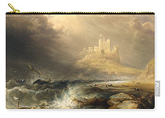 Bamborough Castle Carry-all Pouch by Willliam Andrews Nesfield