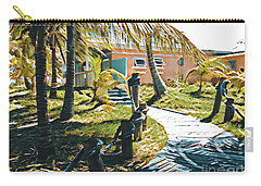 Banana Bay Carry-all Pouch