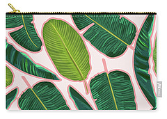 Banana Leaf Blush Carry-all Pouch