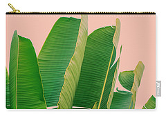 Banana Leaves Carry-all Pouch by Rafael Farias