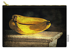 Carry-all Pouch featuring the photograph Bananas Pedestal by Diana Angstadt