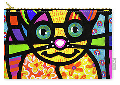 Bandit The Lemur Cat Carry-all Pouch